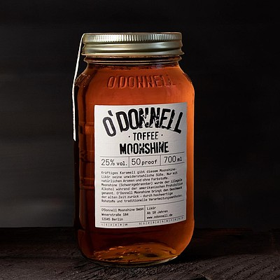 O´Donnell Moonshine TOFFEE 700 ml