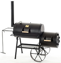 Joe´s BBQ Smoker Silver Edition Tradition